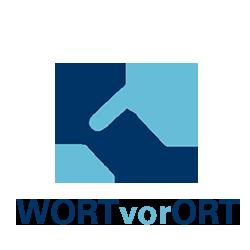 WORTvorORT Logo